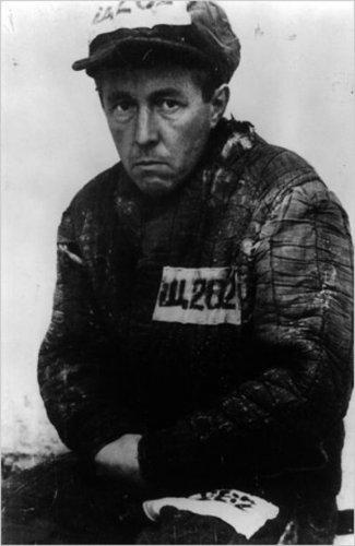 А.И. Солженицын в лагерной робе