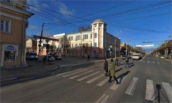В этом здании[50] (ул. Ленина, д.35) Солженицына исключили из Союза писателей, Рязань.