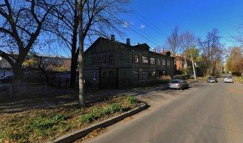 Дом, где жил Александр Солженицын в Рязани, современный вид.