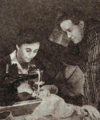 Наталья Решетовская и Александр Солженицын в Рязани, около 1958-1959 гг. Фотокопия из архива Н.А. Решетовской