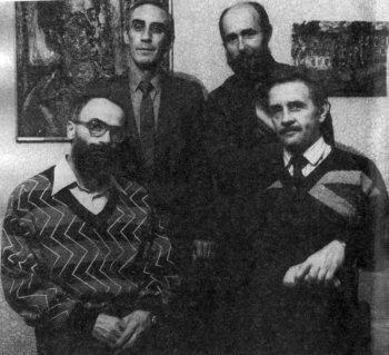Валентин Кириков, Александр Романов. Саратов, 1992 г.