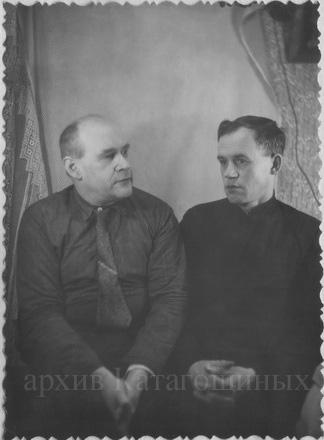 Б. И. Катагощин и И. А. Журкин, 60-е годы