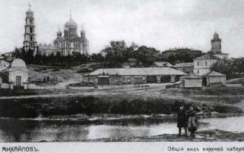 Архангельский собор города Михайлов Рязанской области