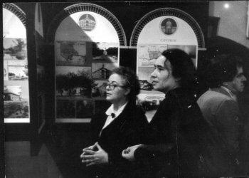 Н.А.Родионова (слева) и Т.В.Шустова. Фото Е.Н.Каширина.