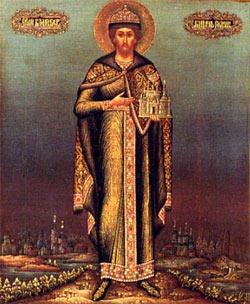 Святой благоверный князь Роман Рязанский