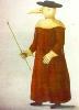 Средневековый «противочумный» костюм
