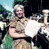 Цветочные горшки Вера Николаевна лепила сама